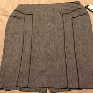 Skirts - Brown pencil skirt